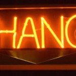 "Neon_sign ""CHANGE"""