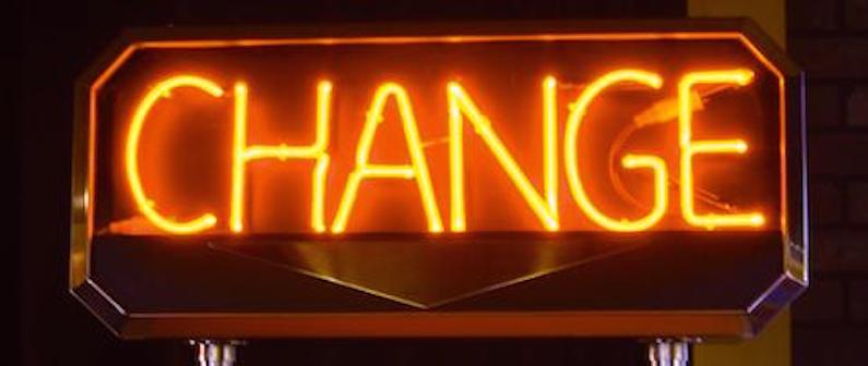 "Neon_sign ""CHANGE"""