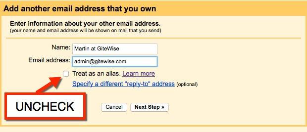 Gmail setup 3