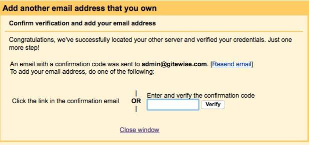 Gmail setup 5