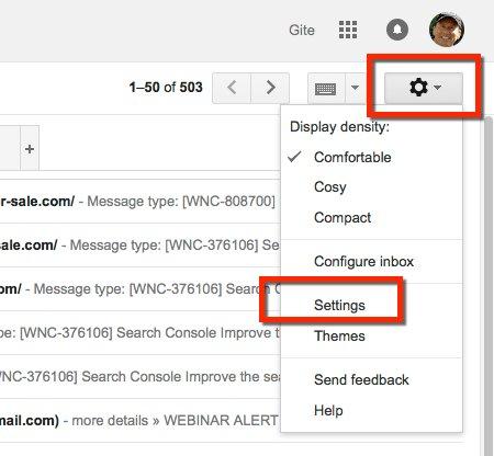 Gmail setup icon