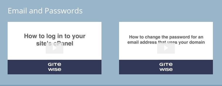 How to add email screen thumbs